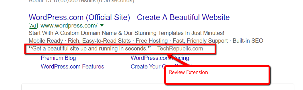 Review Extension